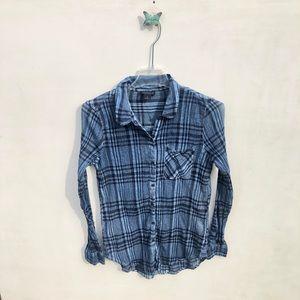 Lucky Brand plaid long Long sleeve shirt